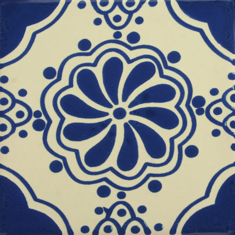 Espcecial ceramic Mexican decorative tile - Isabel