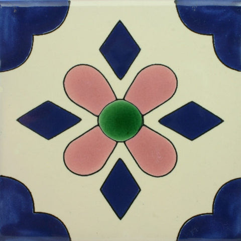 Especial Decorative Ceramic Mexican Tile - San Blas