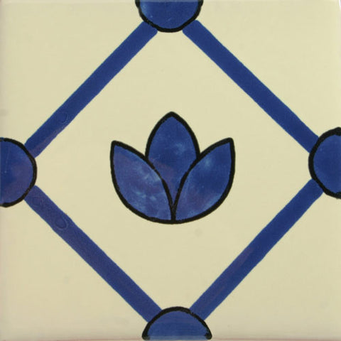Especial Decorative Mexican Tile - Tullips