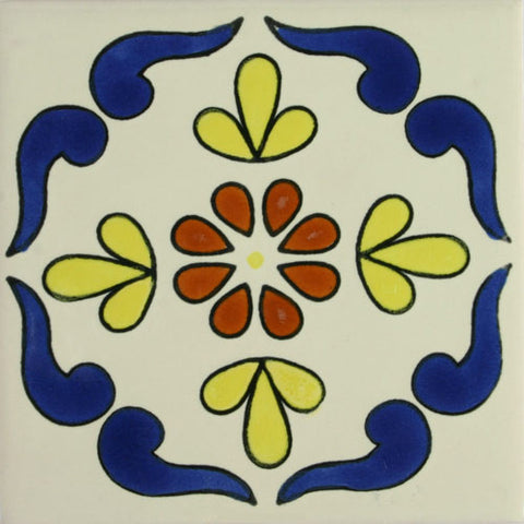 Especial ceramic Decorative Spanish Tile - campeche