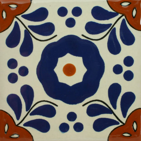 Premium ceramic Mexican Decorative tile trivet set