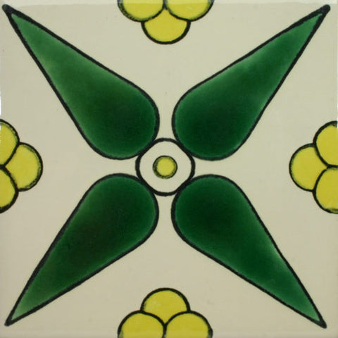 Especial ceramic Decorative Mexican Tile - Molinillo