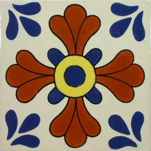 Especial Ceramic Mexican Decorative Tile - Seville