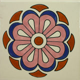 Espcecial ceramic Mexican decorative tile - Hidalgo
