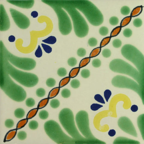 Especial ceramic Decorative Mexican Tile - Martha II