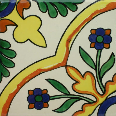 Espcecial ceramic Mexican decorative tile - guadalupe