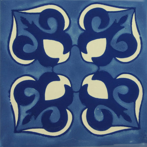 Especial ceramic Decorative Spanish Tile - blue