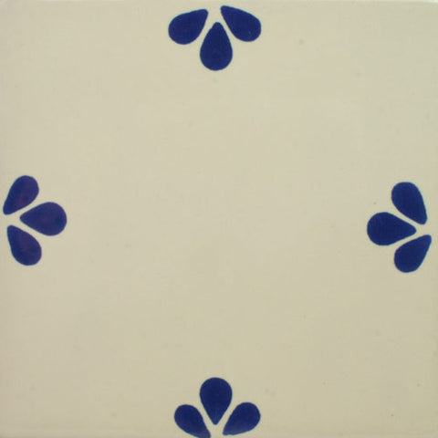 Especial Ceramic Decorative Mexican Tile - Ville Azul