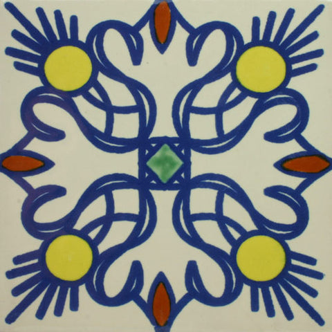 Especial ceramic Decorative Mexican Tile - Magdalena
