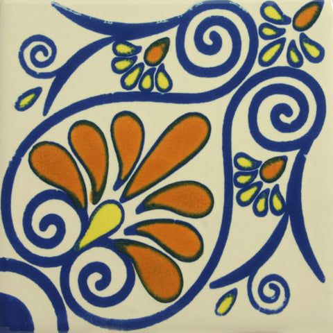 Especial Spanish Decorative Tile - Pavo Real
