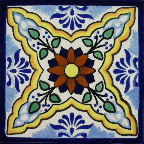 Mexican -style pool tile