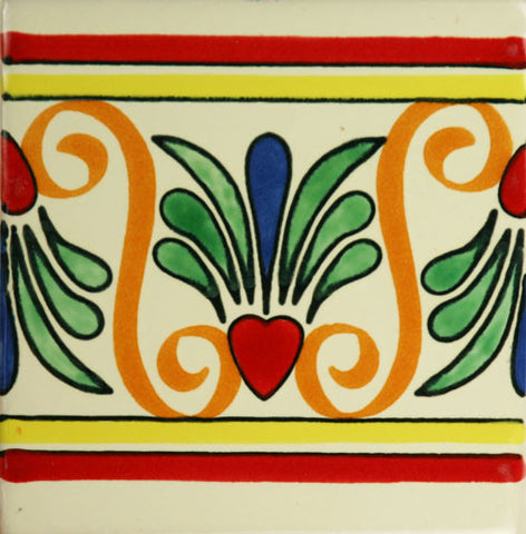Especial Mexican Tile - Corazon De Ave