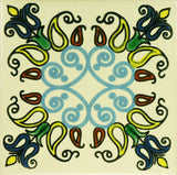 Especial ceramic Decorative Mexican Tile - luces colores
