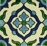 Especial ceramic Decorative Spanish Tile - cross