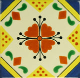 Especial ceramic Decorative Mexican Tile - Mariquita ladybug