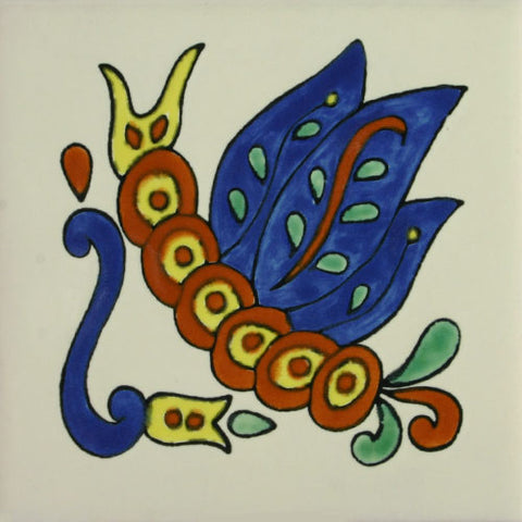 Especial Decorative Ceramic Mexican Tile - catapiller