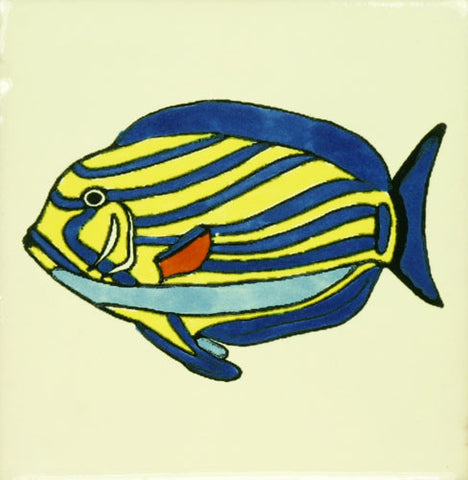 angel fish Mexican Tile