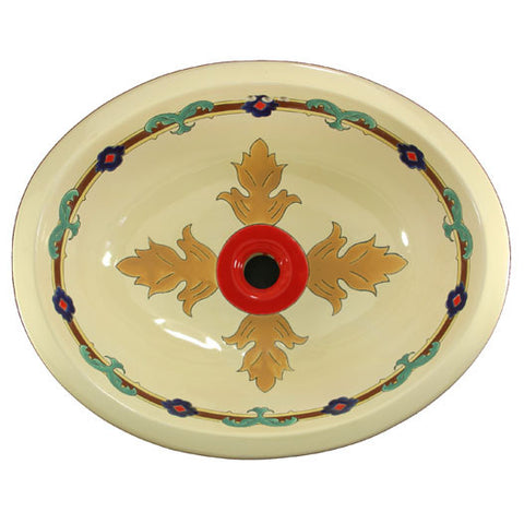 Traditional Mexican Sink-Cruz  Pluma