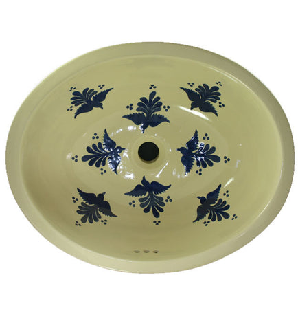Traditional Mexican Sink-Volar Azul