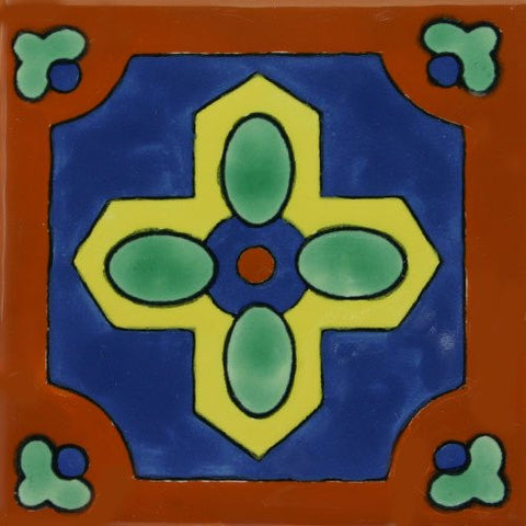 ceramic decorative Mexican tile