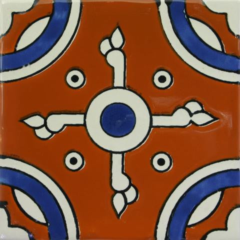 Ceramic Mexican pool tile