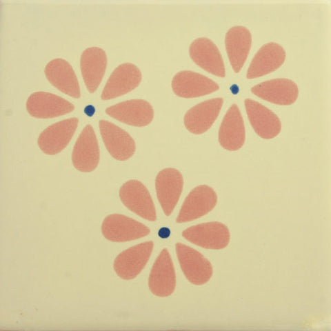Especial Decorative Mexican Tile - Flowers