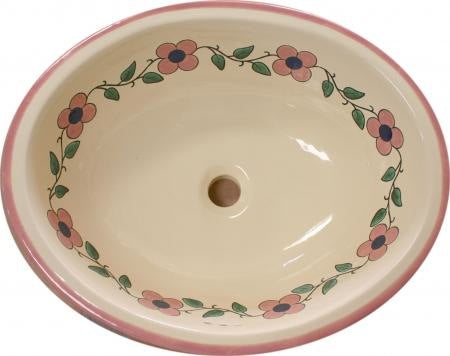 Traditional Mexican Sink-Flor Pastel