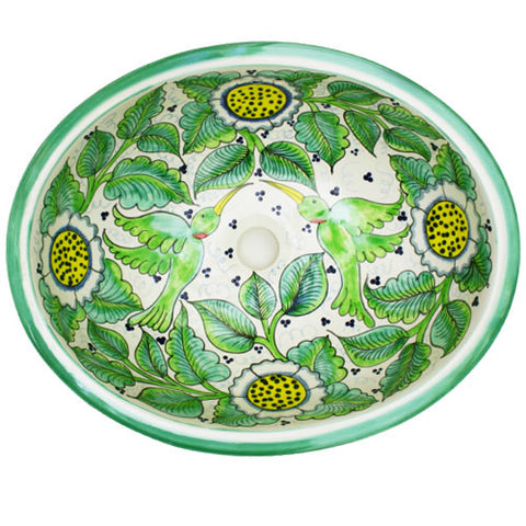 Traditional Mexican Sink-Calibri Verde
