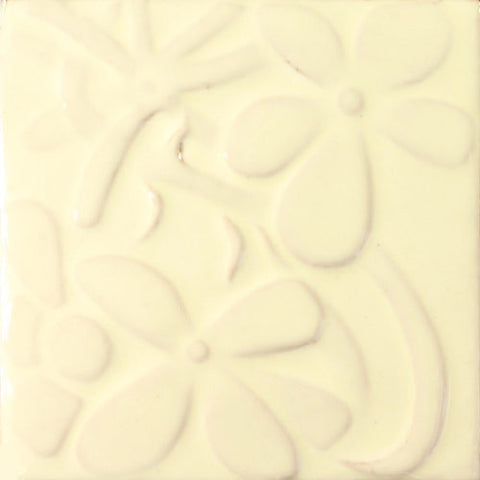 Especial Mexican Tile - Laura Raised-Relief Flowers