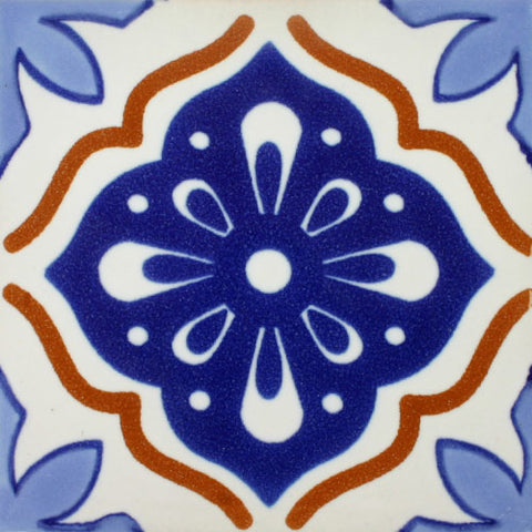 Porcelain Decorative Mexican Tile - Oleada