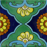 Ceramic Mexican Tile - Fandango