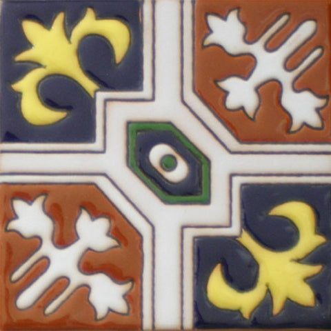 Raised relief tile