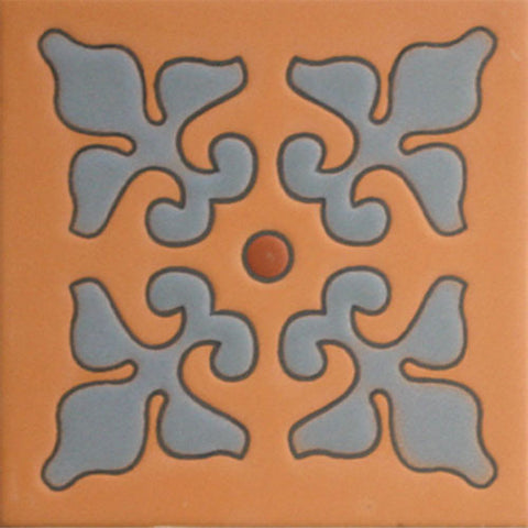 Terra Cotta raised relief decorative tile