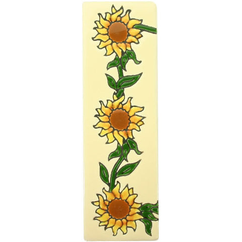 Girasol Mexican Tile End Trim