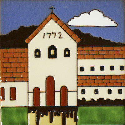 San Luis Obispo Historic Mission Tile