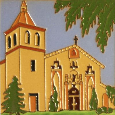 Santa Clara Historic Mission Tile