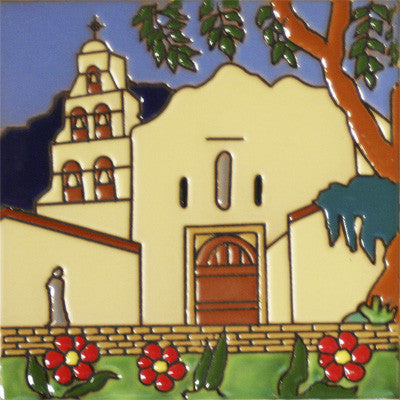 San Diego Historic Mission Tile