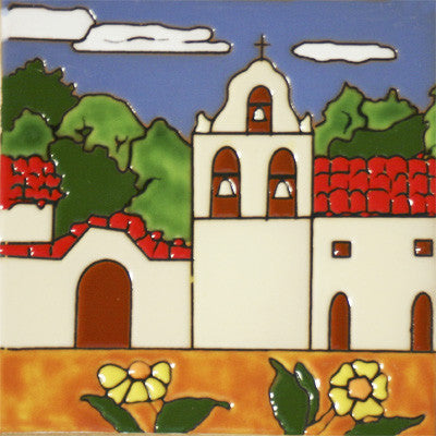 Historic Spanish Mission Tile Mexican Tile Designs
