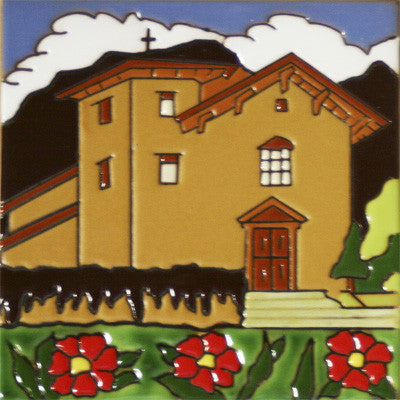San Jose Historic Mission Tile