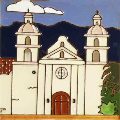 Santa Barbara Historic Mission Tile