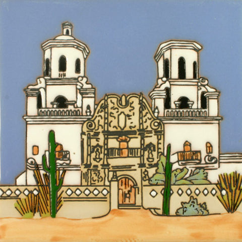 Historic Mission Collection- Mision San Xavier Del Bac