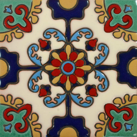 Raised Relief Mexican Decorative tile