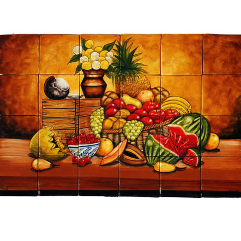 Mexican Style Mural - Bodegon Cocos