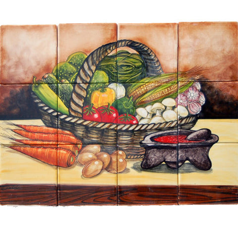 Mexican Style Mural - Canasta
