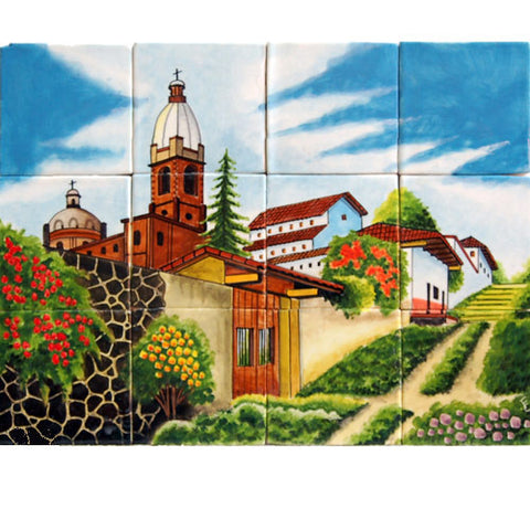 Mexican Style Mural - Camino Iglesia