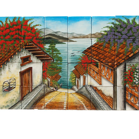 Mexican Style Mural - Michoacan