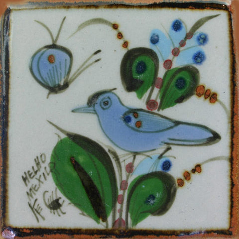 Ken Edwards blue bird tile
