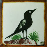Raven bird tile by Ken Edwards