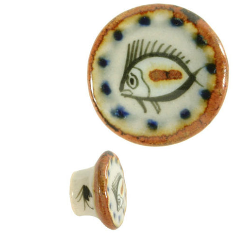 Ken Edwards fish drawer knob