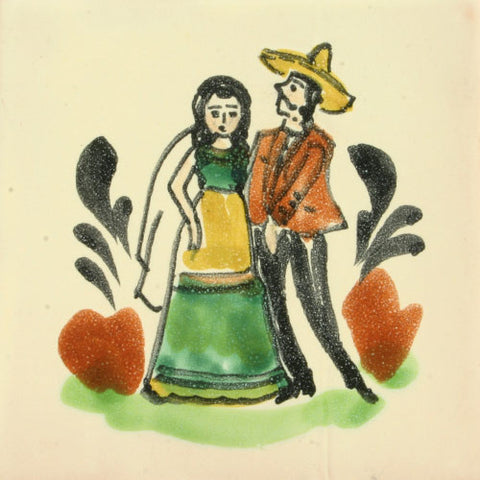 Gorky Gonzalez Mexican wedding tile